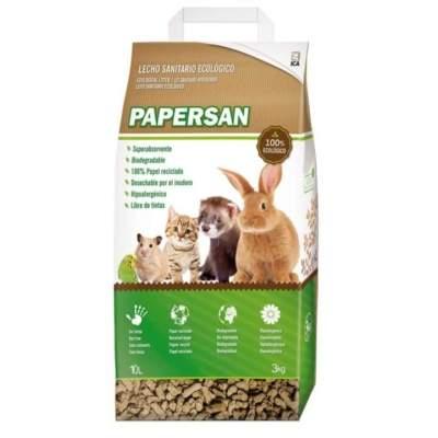 Lecho ecológico para roedores Papersan Ica